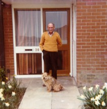 anniecoops Grandad and Trixie 1979