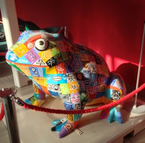 Larkin Global Pop Toad at Hull University