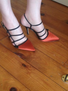 My favourite suitably unsuitable shoes :)
